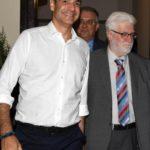 Συνάντηση δημάρχου Ιωαννίνων με τον Πρωθυπουργό σε θετικό κλίμα