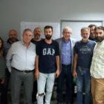 Με τους εργαζομένους στη Διεύθυνση Καθαριότητας και Ανακύκλωσης του Δήμου Αμαρουσίου συναντήθηκε ο Θ. Αμπατζόγλου