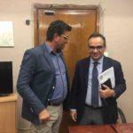 Συνάντηση δημάρχου Ανδραβίδας-Κυλλήνης με Υφυπουργό Υγείας για την στελέχωση των μονάδων Πρωτοβάθμιας Φροντίδας
