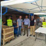 Παρουσία Δημάρχου Ανδραβίδας- Κυλλήνης πραγματοποιήθηκε η διανομή τροφίμων