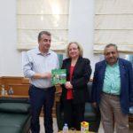 Συνάντηση Περιφερειάρχη Κρήτης με την Πρέσβειρα της Κούβας