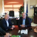 Συνάντηση του Δημάρχου Διονύσου Γ. Καλαφατέλη με τον Βουλευτή Ανατολικής Αττικής Π. Σκουρολιάκο