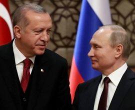 Ο Πούτιν καλεί Ερντογάν στη Μόσχα, υπό το φως της επίσκεψης Πενς-Πομπέο στην Άγκυρα