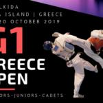 Στην Χαλκίδα το G1 Greece Open 2019 το Τριήμερο 18-20/10