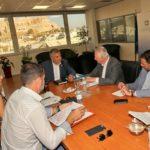 Συνάντηση του Περιφερειάρχη Αττικής Γ. Πατούλη με τον Δήμαρχο Περιστερίου Α. Παχατουρίδη