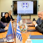 Συνάντηση του Περιφερειάρχη Αττικής με τον Επίτροπο Μετανάστευσης, Εσωτερικών Υποθέσεων και Ιθαγένειας της Ευρωπαϊκής Ένωσης, Δ. Αβραμόπουλο