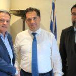 Στον Υπουργό Ανάπτυξης Άδωνη Γεωργιάδη ,ο δήμαρχος Ωρωπού για τα προγράμματα ΕΣΠΑ και την ανάπτυξη