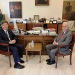 Με τον Πρέσβη της Δημοκρατίας της Κορέας συναντήθηκε ο Δήμαρχος Ηρακλείου Βασίλης Λαμπρινός