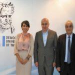 Η Περιφέρεια Α.Μ.Θ. ενισχύει οικονομικά το Δημοκρίτειο Πανεπιστήμιο Θράκης