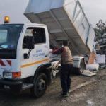 Δ. Θεσσαλονίκης: Πάνω από 500 τόνοι ογκωδών αντικειμένων «πετάχτηκαν» στα πεζοδρόμια μέσα πέντε μέρες