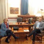 Δήμος Καλαμάτας: Επίσκεψη εκπροσώπων του Πολιτιστικού Συλλόγου «Οι Μαντιναίοι»