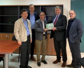 Δήμος Κατερίνης: Επίσκεψη Καθηγητών από το Βιετνάμ στον Αντιδήμαρχο Υπηρεσίας Δόμησης και Τουρισμού Γιώργο Νταντάμη