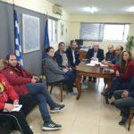 Συνάντηση του Δημάρχου Μεσολογγίου με μέλη συλλόγων του Αιτωλικού για την Λιμνοθάλασσα