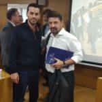 Ο Αντιδήμαρχος Κατερίνης Κ. Γραμματικόπουλος στη σύσκεψη για το νέο σχεδιασμό της Πολιτικής Προστασίας
