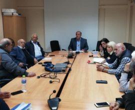 Καλαφατέλης στους Προέδρους των 7 Δημοτικών Κοινοτήτων του Δήμου Διονύσου: «Εσείς είστε ο καθρέφτης των πόλεών σας»