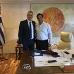 Διαδοχικές συναντήσεις με τον Υπουργό Ανάπτυξης & τον υφυπουργό Υποδομών είχε στην Αθήνα ο Δήμαρχος Κατερίνης