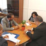 Επίσκεψη του Ν. Φαρμάκη στη Διεύθυνση Μεταφορών Π.Ε. Αχαΐας και στο Μουσικό Σχολείο της Πάτρας