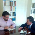 Με τον Υφυπουργό Εσωτερικών Θ. Λιβάνιο συναντήθηκε ο Δήμαρχος Ζωγράφου Β. Θώδας