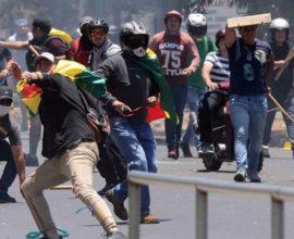 Βολιβία: Νέα βίαια επεισόδια στη Λα Πας