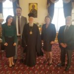 Στο Φανάρι με τον Οικουμενικό Πατριάρχη Βαρθολομαίο, ο Γιάννης Φωστηρόπουλος
