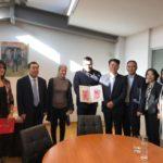 Συνάντηση εκπροσώπων Δήμου Γαλατσίου με Κινέζους αξιωματούχους
