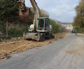 Δήμος Μυτιλήνης: Ξεκίνησε το έργο ανάπλασης στα Τσαμάκια