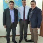 Συνάντηση Δημάρχου Πύργου με τον Διοικητή της 6ης Υγειονομικής Περιφέρειας Πελοποννήσου, Ιονίων Νήσων, Ηπείρου & Δυτικής Ελλάδας