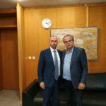 Συνάντηση Δημάρχου Πλατανιά στο Υπουργείο Υποδομών