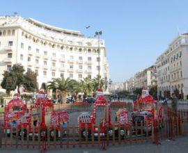 Σε ρυθμούς Χριστουγέννων μπαίνει σταδιακά η Θεσσαλονίκη