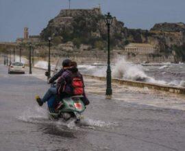 Επελαύνει η «Βικτώρια»: Ισχυρές βροχές και καταιγίδες σήμερα