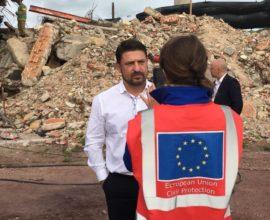 Σε άσκηση ετοιμότητας για τσουνάμι στη Κω, ο γγΠΠ Νίκος Χαρδαλιάς