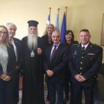 Επίσκεψη Μητροπολίτη Μεσογαίας και Λαυρεωτικής κ.κ. Νικόλαου στο Λαύριο