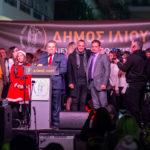 Δήμος Ιλίου: Εντυπωσιακή φωταγώγηση του Χριστουγεννιάτικου Δέντρου