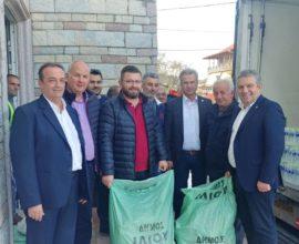 Ανθρωπιστική βοήθεια από τον Δήμο Ιλίου στις σεισμόπληκτες περιοχές της Αλβανίας