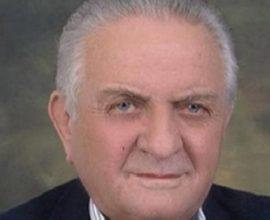 Απεβίωσε ο επί σειρά ετών δήμαρχος Αλμυρού, Σπύρος Ράππος
