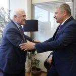 Πατούλης: «Kινούμαστε με γρήγορους ρυθμούς για την έγκαιρη κατασκευή του νέου γηπέδου της ΑΕΚ»