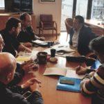 """Συνάντηση του Δημάρχου Αλεξανδρούπολης με τη διοίκηση του σωματείου ιδιοκτητών ΤΑΞΙ Αλεξανδρούπολης """"Η ΟΜΟΝΟΙΑ"""""""