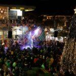 Φως, ήχος και χρώμα στο Χριστουγεννιάτικο Άναμμα στην Κηφισιά