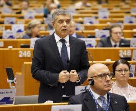 Ο Περιφερειάρχης Θεσσαλίας Κώστας Αγοραστός στην Ολομέλεια της Επιτροπής των Περιφερειών στις Βρυξέλλες