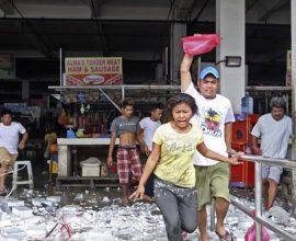 Μια εξάχρονη θύμα του ισχυρού σεισμού 6,9 Ρίχτερ στις Φιλιππίνες- Μεγάλες ζημιές