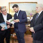 Συνάντηση Δημάρχου Χανίων, Π. Σημανδηράκη, με τον Γ.Γ. του Κ.Κ.Ε., Δ. Κουτσούμπα