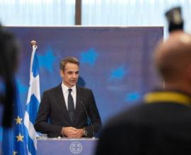 Μέτωπο κατά της τουρκικής αυθαιρεσίας συγκροτεί ο Μητσοτάκης στη Σύνοδο Κορυφής