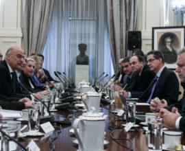 Συμβούλιο Εξωτερικής Πολιτικής: Διαπιστώθηκε εθνική σύμπνοια και ομόνοια – Αρραγές το εθνικό μέτωπο