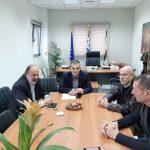 Συνάντηση Δημάρχου Θηβαίων με Αντιπεριφερειάρχη Δημήτριο Βουρδάνο