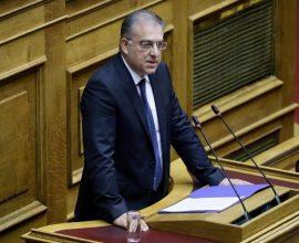 Θεοδωρικάκος: Ο κ. Τσίπρας υποθάλπει συνειδητά την εκλογική σεναριολογία για να καταλαγιάσει εσωτερικές αντιπαραθέσεις