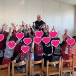 Δήμος Δέλτα: Ο Γιάννης Ιωαννίδης στο νηπιαγωγείο του οικισμού Αγία Σοφία