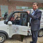 Ηλεκτρικό αυτοκίνητο απέκτησε ο Δήμος Κορυδαλλού