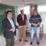 Δήμος Πύργου: Επίσκεψη Αντωνακόπουλου στις σχολικές δομές του Καράτουλα