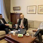 Συνάντηση του Απόστολου Τζιτζικώστα με τον Διοικητή της Εθνικής Αρχής Διαφάνειας Άγγελο Μπίνη