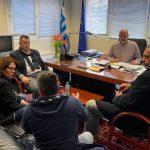 Σύσκεψη στο γραφείο του Χ. Μπονάνου για τη βελτίωση των διαδικασιών έκδοσης αδειών κυκλοφορίας από τη Δ/νση Μεταφορών Αχαΐας